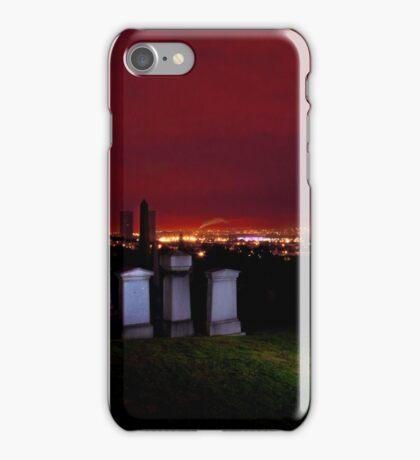 Glasgow Necropolis at Night iPhone Case/Skin