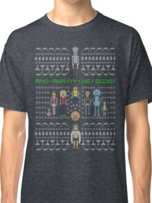 Rick and Morty Family Portrait (dark) Classic T-Shirt