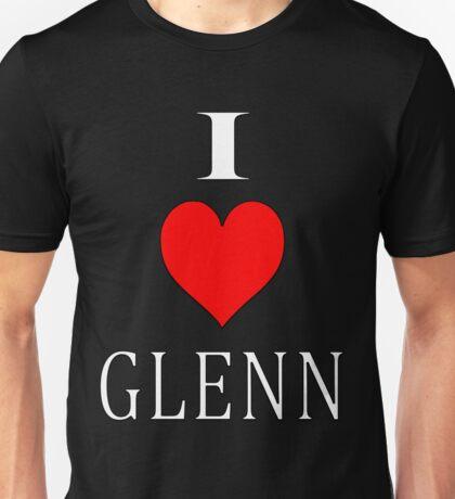 i heart glenn  Unisex T-Shirt