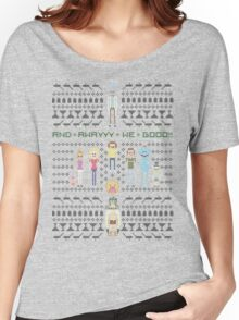 Rick and Morty Family Portrait (light) Women's Relaxed Fit T-Shirt