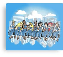 Princess Workers Metal Print