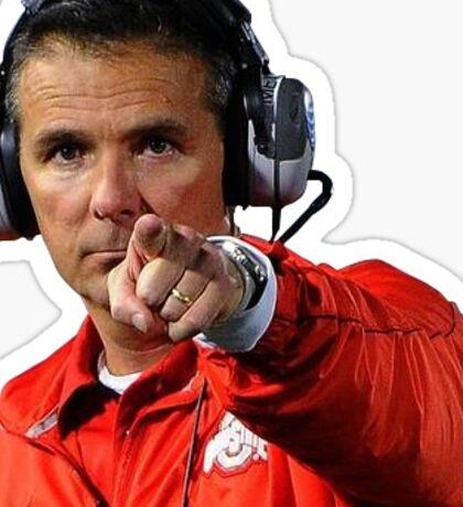 Urban Meyer OSU Head Coach Sticker
