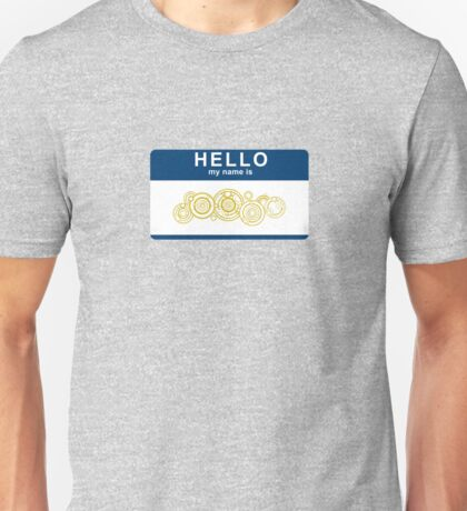 Hello, My Name Is The Doctor Unisex T-Shirt