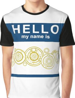 Hello, My Name Is The Doctor Graphic T-Shirt