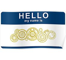 Hello, My Name Is The Doctor Poster