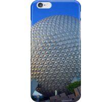 Epcot Center Spaceship Earth iPhone Case/Skin