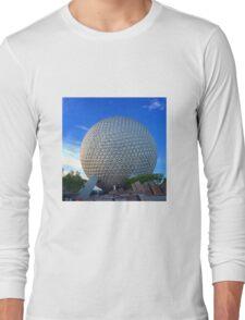 Epcot Center Spaceship Earth Long Sleeve T-Shirt