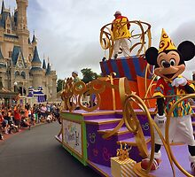Disney Magic Kingdom Move It! Shake It! Celebrate It! Dance Party Parade!  by BrandonBalasco