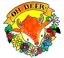 oh deer! by Bantambb