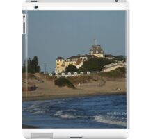 ocean house from the napatree point of view iPad Case/Skin