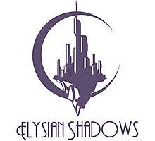 Elysian Shadows (Logo) Photographic Print