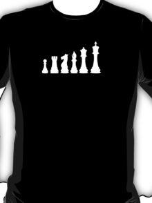 Minimal Chess Pieces T-Shirt