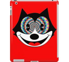 trippy felix iPad Case/Skin
