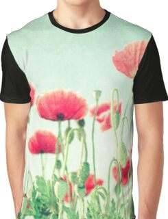 Beautiful flower field, digital photo, modern,trendy,floral pattern Graphic T-Shirt