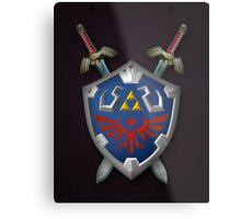 Master Sword Metal Print