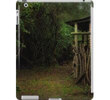 Silent Dog, Still Leaves iPad Case/Skin