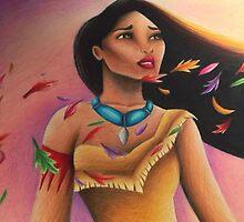 Pocahontas by AprilStrange