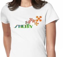 The Name Game - Sherry Womens Fitted T-Shirt