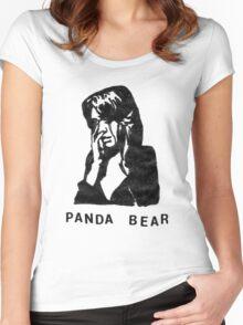 Panda Bear (Tomboy) Women's Fitted Scoop T-Shirt