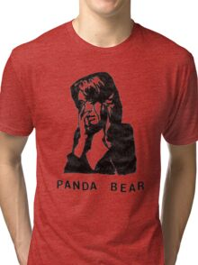 Panda Bear (Tomboy) Tri-blend T-Shirt