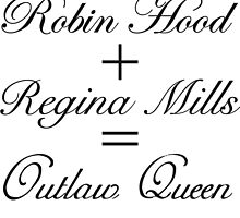 Outlaw Queen Equation by colorfulmoniker