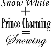Snowing Equation by colorfulmoniker
