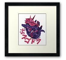 Pokemon-Aggron Framed Print