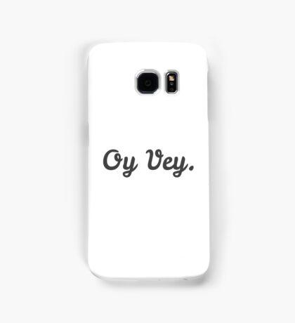 Oy Vey Cursive Samsung Galaxy Case/Skin