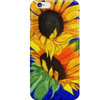 Sunflower Sister 2nd part iPhone Case/Skin