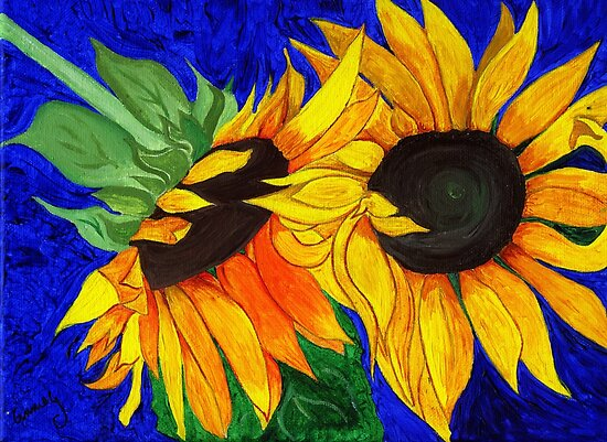 Sunflower Sister 2nd part by Anne Gitto