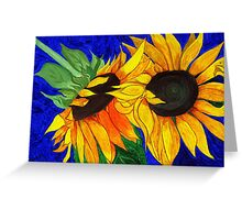 Sunflower Sister 2nd part Greeting Card