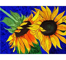 Sunflower Sister 2nd part Photographic Print