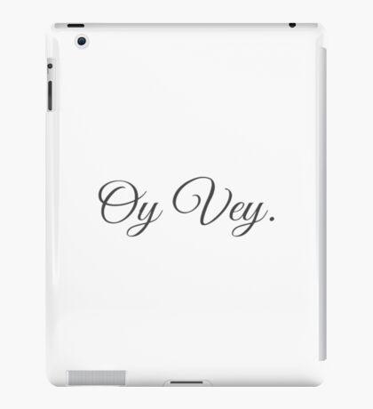 Oy Vey Fancy iPad Case/Skin