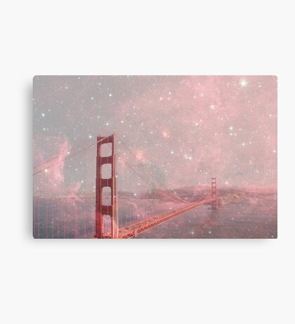 Stardust Covering San Francisco Canvas Print