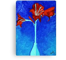 Maryllis Inspiration Canvas Print