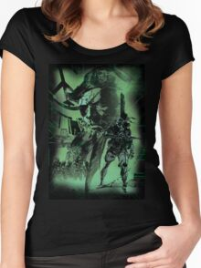 Metal Gear Solid (1 of 10) Women's Fitted Scoop T-Shirt