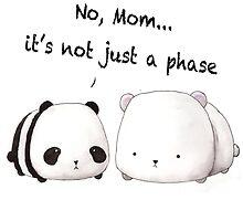 Emo Panda by Sherry Yuan