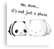 Emo Panda Metal Print