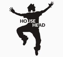 House Head - Blue Baby Tee