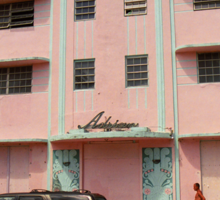 Miami Beach - Art Deco Sticker