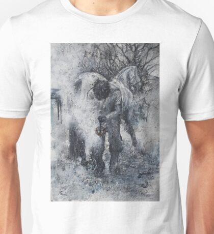 'HOT LITTLE SAUSAGE', HORSE & FARRIER Unisex T-Shirt