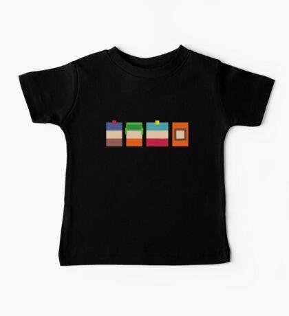 South Park 8-Bit Pixels Design Baby Tee