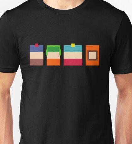 South Park 8-Bit Pixels Design Unisex T-Shirt