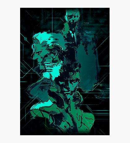 Metal Gear Solid (3 of 10) Photographic Print