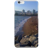 English Bay beach beachfront Vancouver BC iPhone Case/Skin