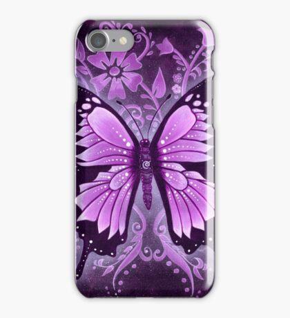 Butterfly Healing - Purple Dreams iPhone Case/Skin