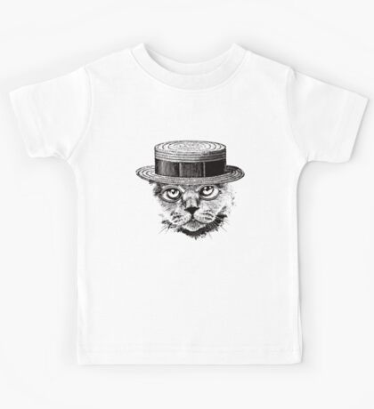 The Most Interesting Cat In The Hat Kids Tee