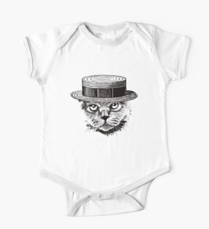 The Most Interesting Cat In The Hat One Piece - Short Sleeve