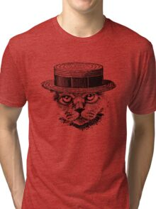 The Most Interesting Cat In The Hat Tri-blend T-Shirt