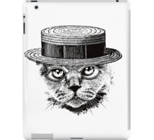 The Most Interesting Cat In The Hat iPad Case/Skin